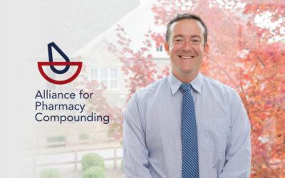 Shawn Hodges, PharmD, Named President of Alliance for Pharmacy Compounding