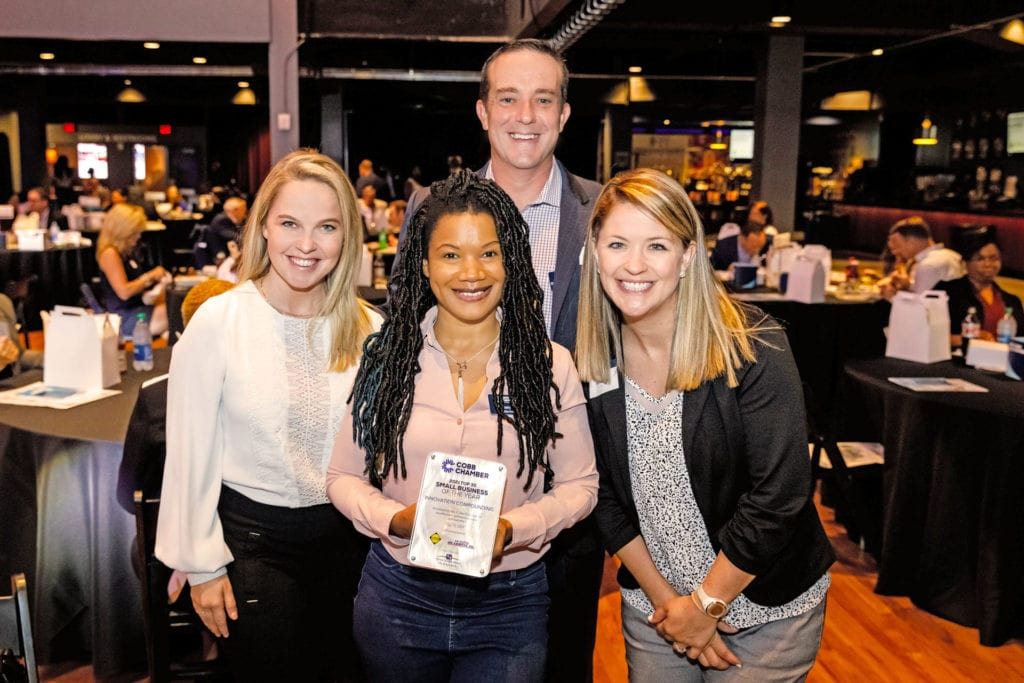 cobb chamber marquee Monday award ceremony